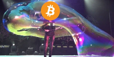 Bitcoin Is Currently In A Bubble