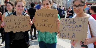 There is no gender pay gap, people get what they're worth