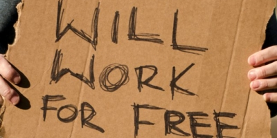 Entrepreneurs Work For Free